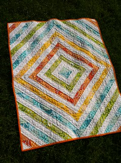 Baby Elliot's quilt | by Fiona @ Poppy Makes