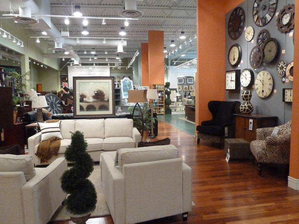 Interior of home decorators collection shopping trip The home decorators collection