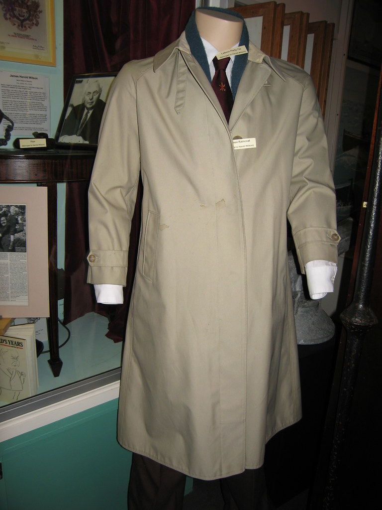 Harold Wilson 39 S Gannex Raincoat Paul Kirkwood Flickr