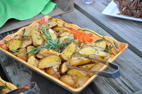 Roasted Potatoes with Rosemary | by swampkitty