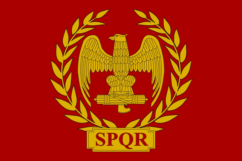 Flag of the Roman Empire | Just a Flag of the Roman Empire ...