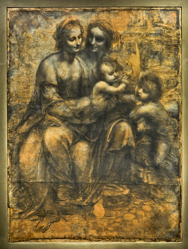 virgin and child with saint anne Leonardo da vinci's masterwork the virgin and child with saint anne, restored with the aid of the c2rmf (center for research and restoration of the museums of.