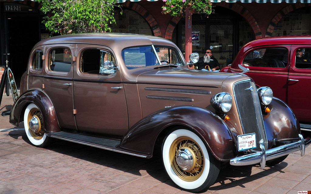 1935 Chevrolet Master Deluxe 4 Door Sedan Fvr Historic
