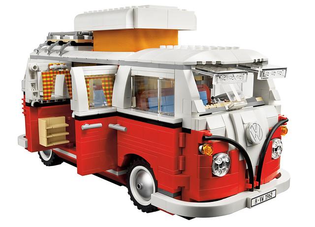 10220 volkswagen t1 camper van new lego set due out. Black Bedroom Furniture Sets. Home Design Ideas