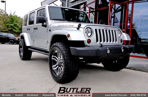 jeep wrangler unlimited with 18in fuel gauge wheels and le flickr. Black Bedroom Furniture Sets. Home Design Ideas