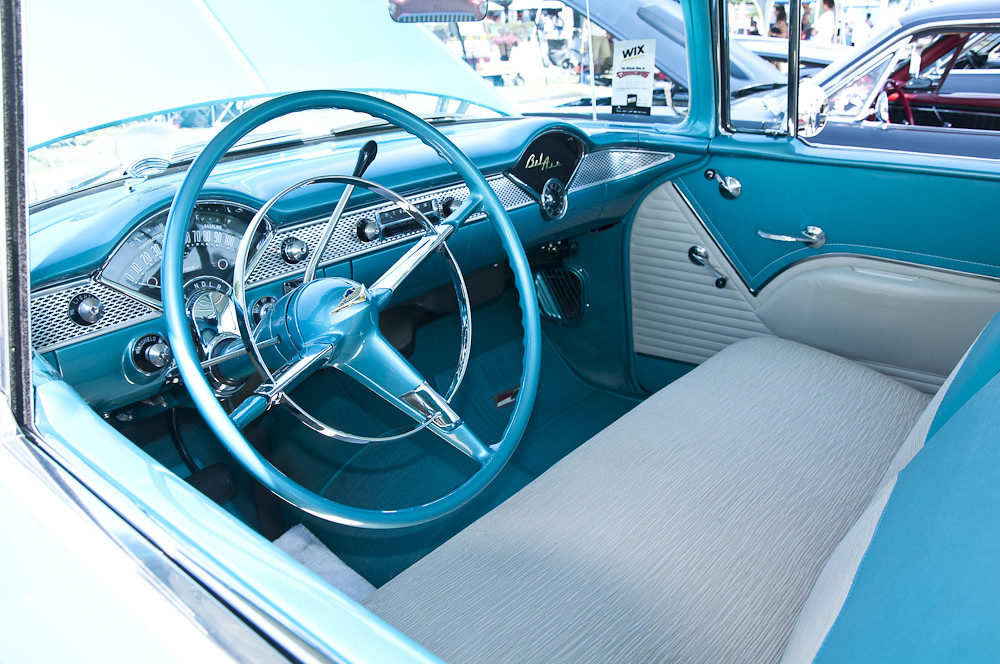 good guys 2011 1955 chevy bel air interior 1955 chevy be flickr. Black Bedroom Furniture Sets. Home Design Ideas