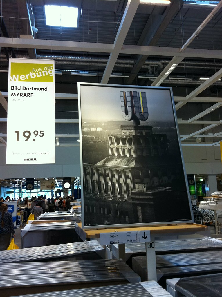 dortmunder u turm bild dortmund myrarp bei ikea in gro flickr. Black Bedroom Furniture Sets. Home Design Ideas