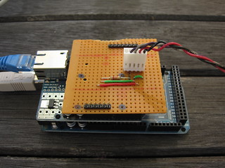 Arduino with protoyping shield | by Steve Marple