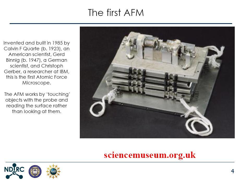 first AFM