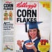 1977 Kellogg's Corn Flakes Cereal Box