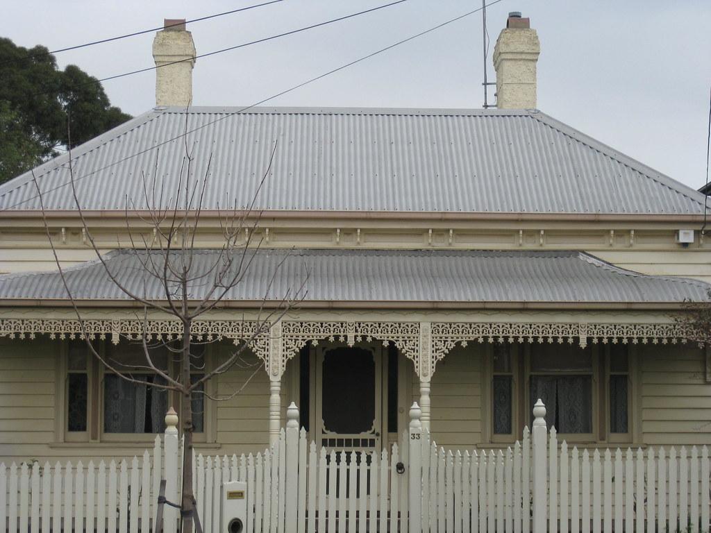 A Victorian Weatherboard Villa Moonee Ponds Standing