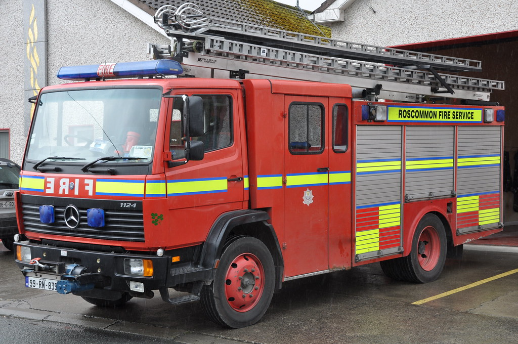 roscommon fire service 1999 mercedes benz 1124 idt-sidhean…   flickr