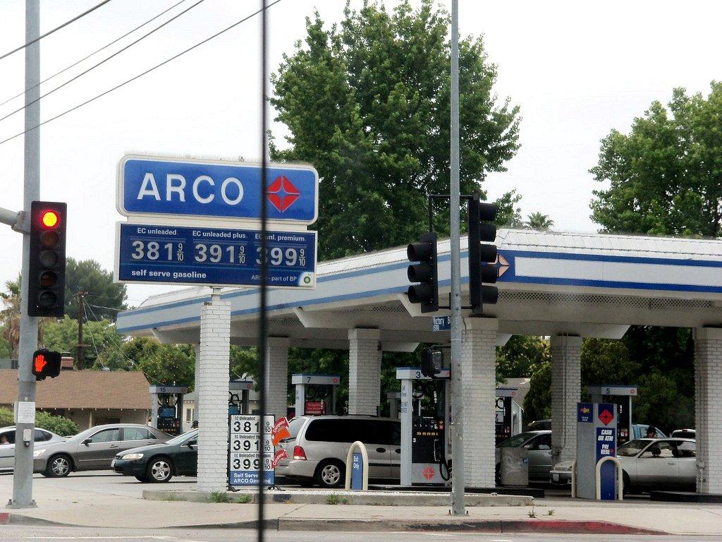 Arco Gas >> Arco Gas Station Van Nuys Ca Clotee Pridgen Allochuku Flickr