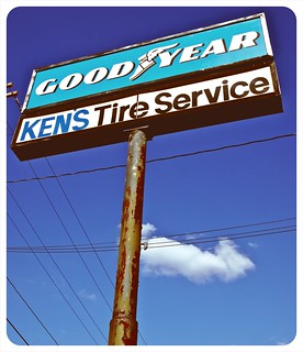 Ken's Tire Service sign | by Vorona Photography