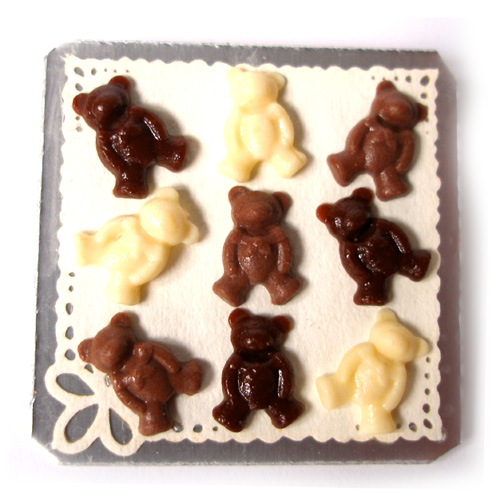 Chocolate Teddy Bears | by Dollhouse Kitchen