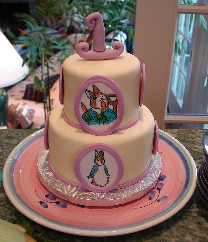 Sticky Fingers Birthday Cake