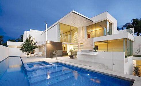 Fachadas de casas modernas en las fachadas de las casas mo flickr - Dibujos de casas modernas ...