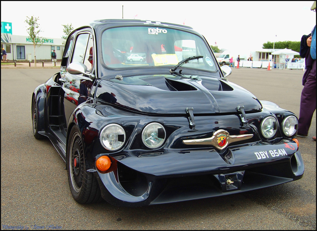 silverstone classic 2011 fiat 500 abarth si flickr. Black Bedroom Furniture Sets. Home Design Ideas