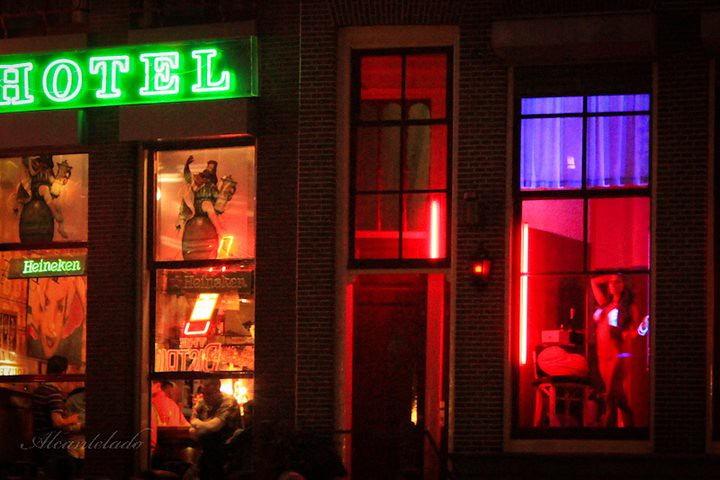 Red light district amsterdam cum swapping old fella - 2 part 8