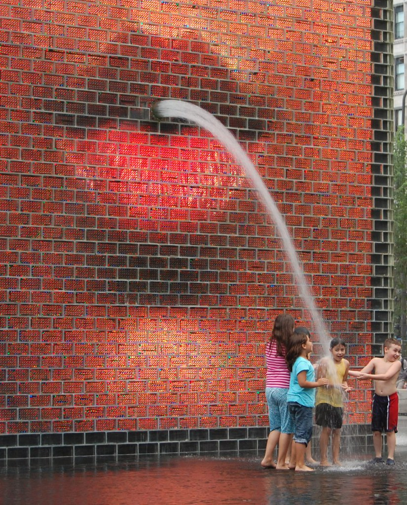 Crown Fountain In Chicago S Millennium Park Quot One Of The