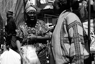 Petticoat Lane Market - two women | by fabiolug