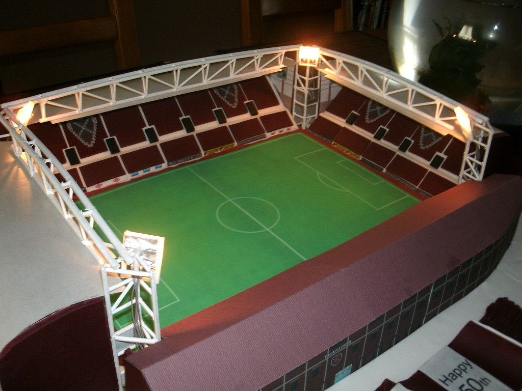 Make Football Stadium Cake