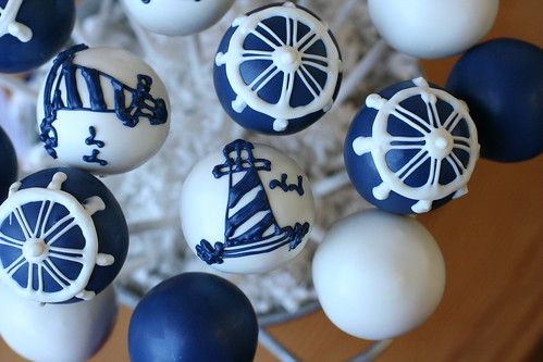 Lighthouse Cakepops | by Sweet Lauren Cakes