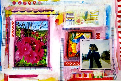 Mixed Media Collage | by marciadotcom