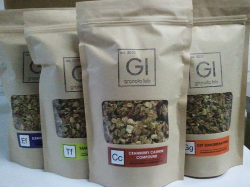 New packaging: Cranberry Cashew Compound | by Granola Lab