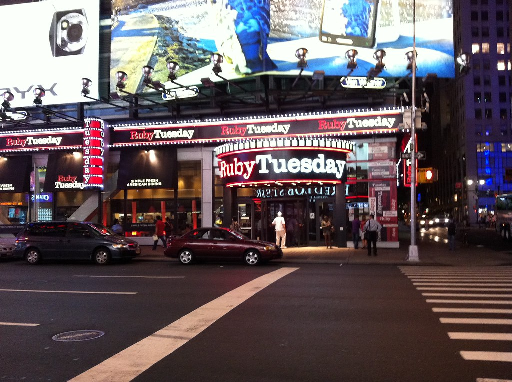 Image result for ruby tuesday times square