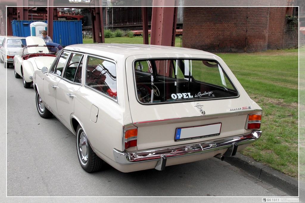 1966 Opel Rekord C 1900S L Caravan fünftürig (01)  The