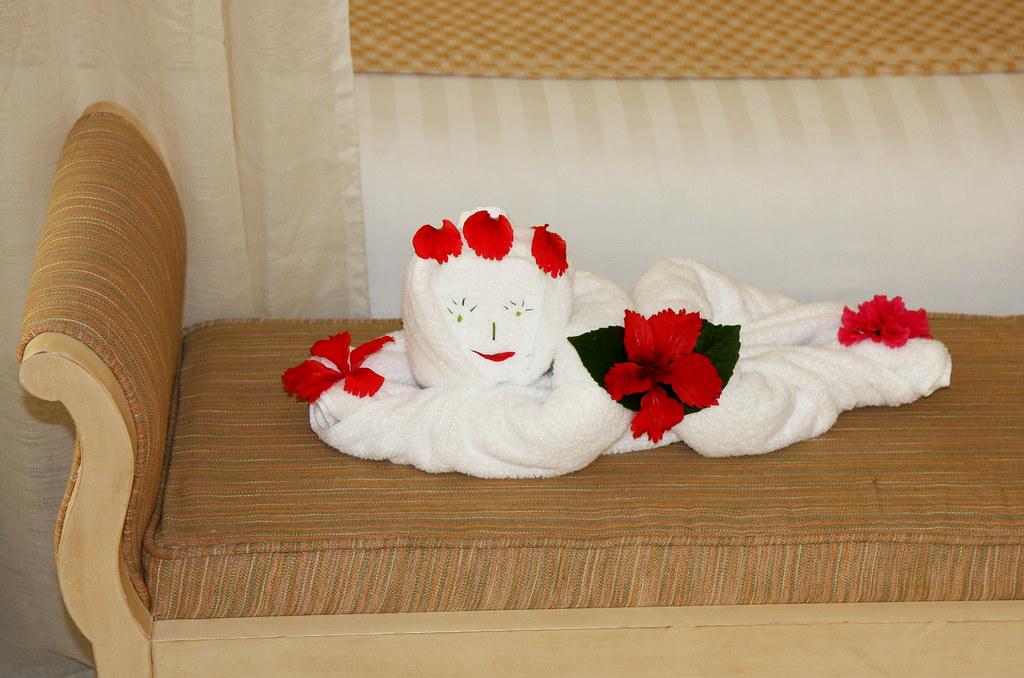 Dreams Punta Cana Photos Junior Suite Dreams Punta Cana Towel Art in Honeymoon Junior Suite