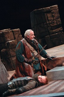 Jonathan Gillard Daly and Greg Beam in Henry IV, Part 1 (2011, directed by Paul Mason Barnes) | by Great River Shakespeare Festival