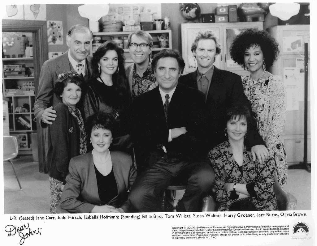 cast of dear john here is a 1991 cast photo of the tv