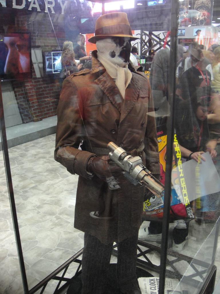 San Diego Comic Con 2011 Rorschach Costume Legendary Bo