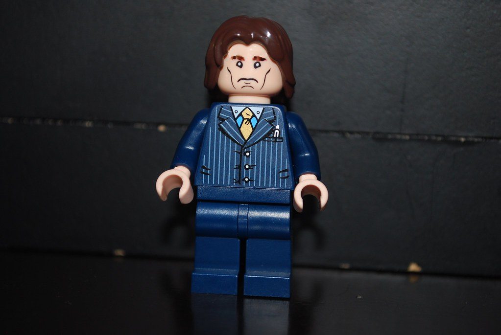 Rufus Scrimgeour | by legoskf Rufus Scrimgeour | by legoskf