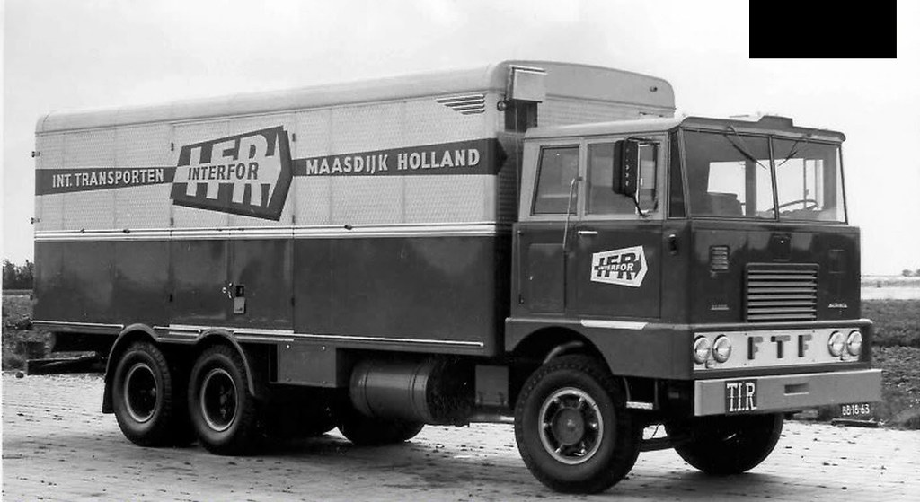 ftf truck | first FTF-truck ever build with MACK parts ...