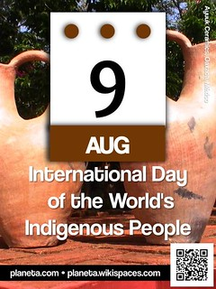 International Day of the World's Indigenous People: August 9 @UN @UN4Indigenous #IndigenousDay (attribution-sharealike license) | by planeta