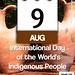 International Day of the World's Indigenous People: August 9 @UN #UNIndigenousDay