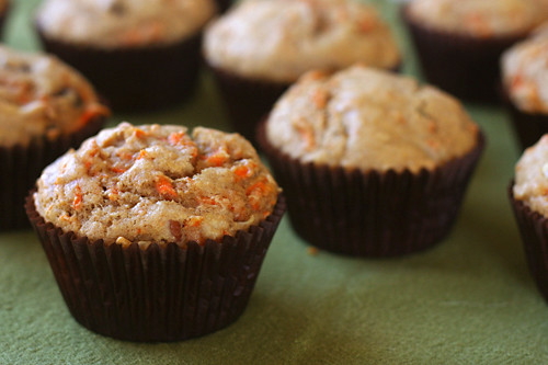 carrot spice muffins 4 | by crumblycookie