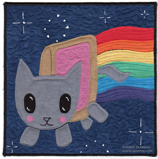 nyan cat | by muppindotcom