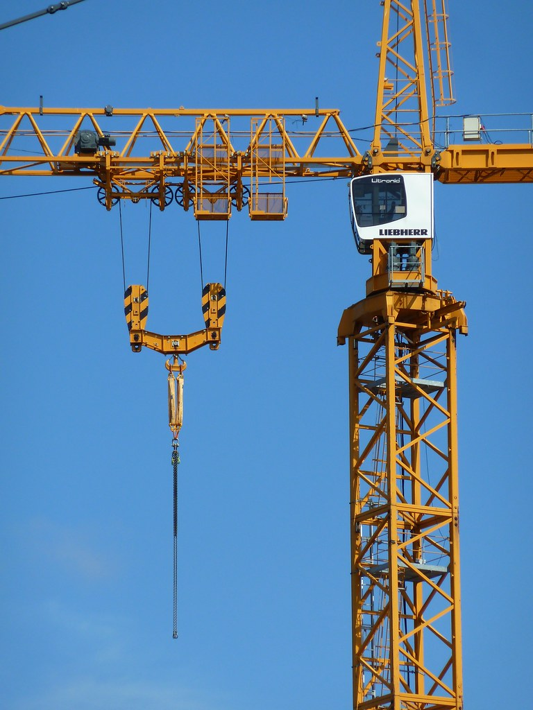 Tower Crane Vs Mobile Crane : Liebherr ec h litronic immersed tunnel