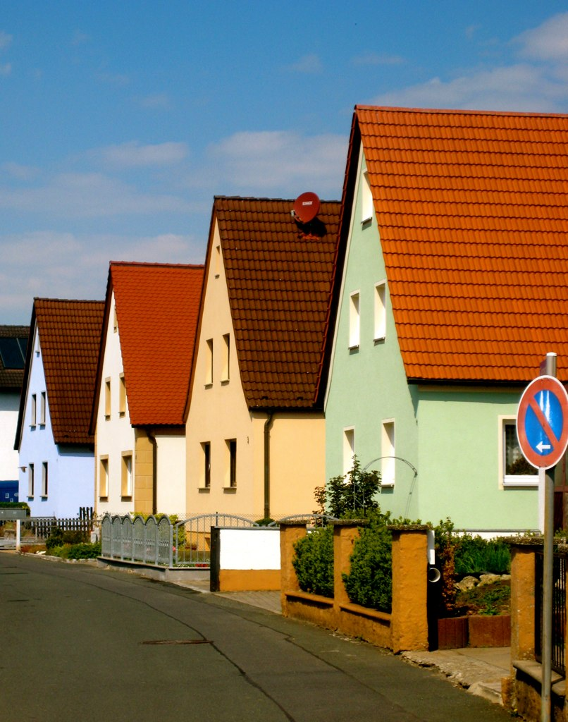 Colorful German Homes All The Colorful Homes In