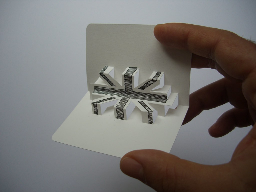 3-D business card series - union jack (front view) | Flickr