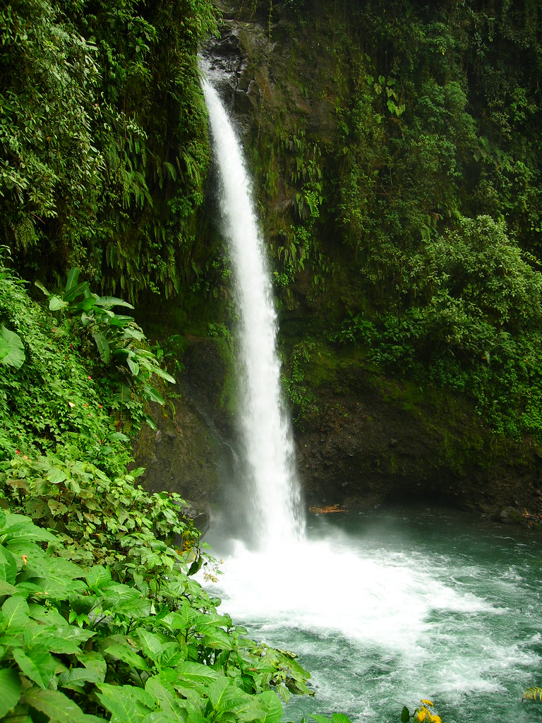 Natural Waterfall Costa Rica Pura Vida Alex W Flickr
