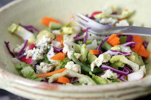 chopped salad | by David Lebovitz