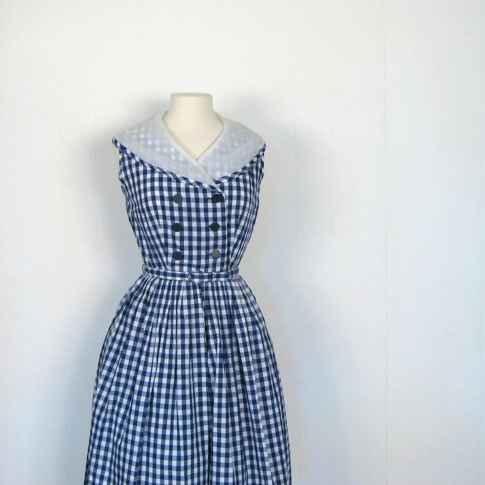 Blue Gingham Dress  Cocktail Dresses 2016