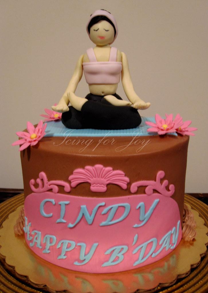 Yoga Cake Irene Flickr