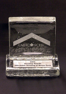 CMHC Award | by Northern Art Glass
