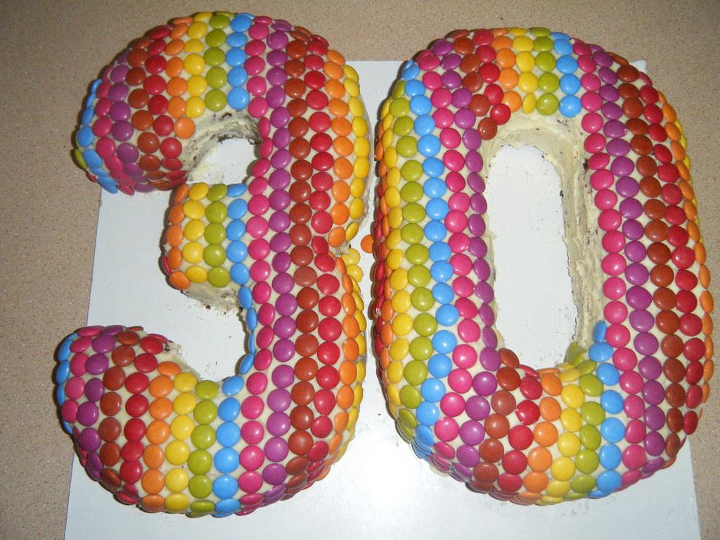 Bens 30th Birthday Cake